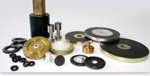 Rubber-metal compounds